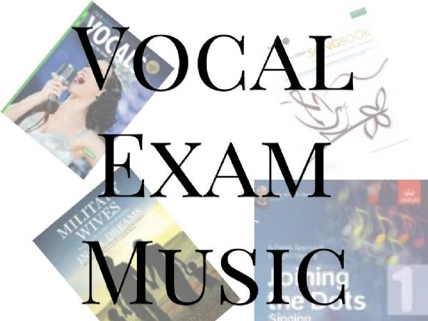 Vocal Exam Music